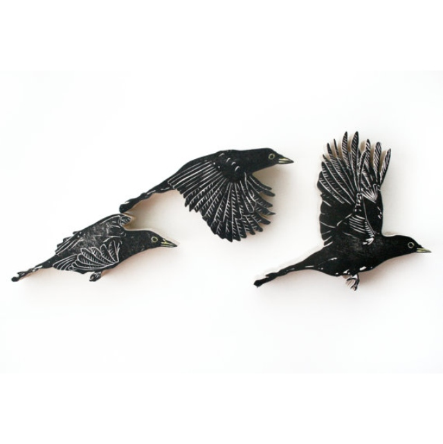 Black Birds by Nic Annette Miller, 2010